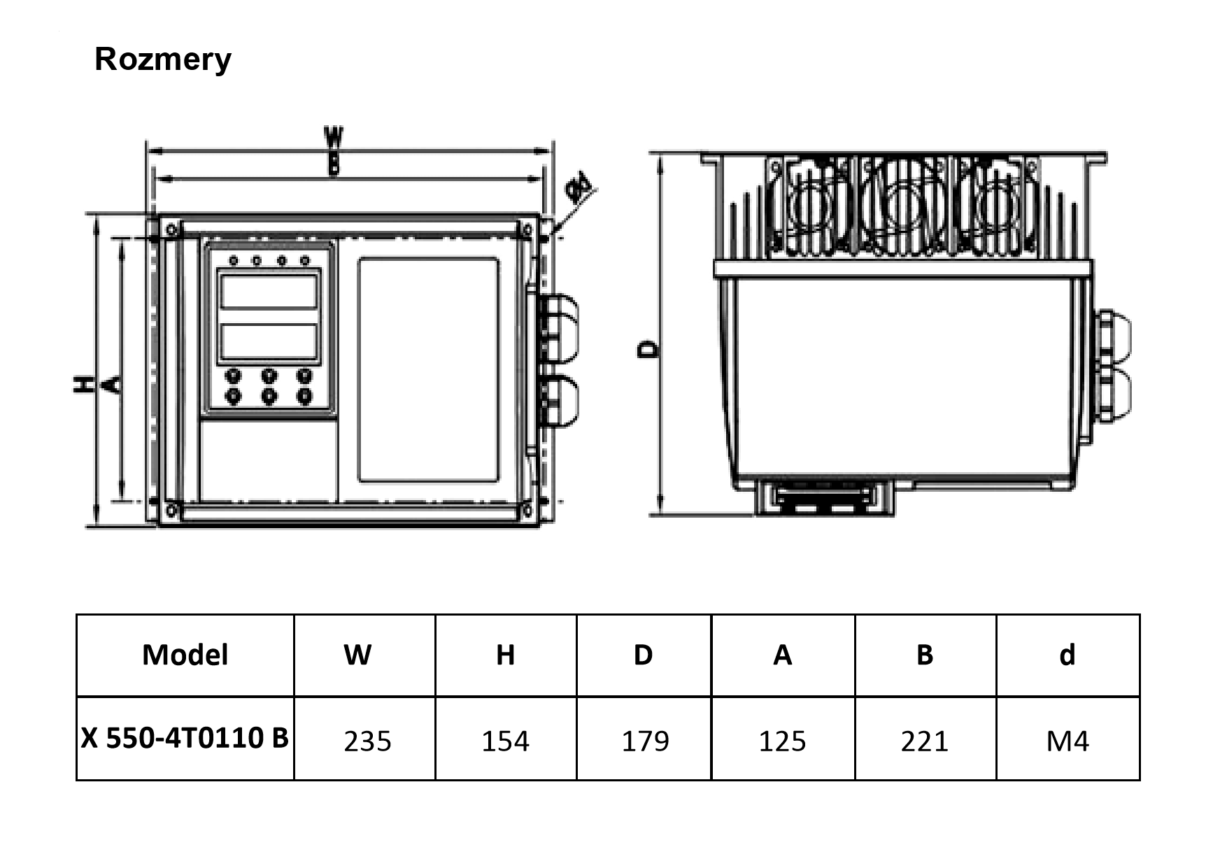 frekvenční měnič 11 kw V800