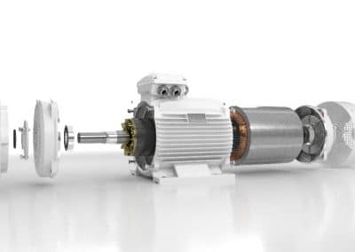Elektromotor-LC-rozobraty