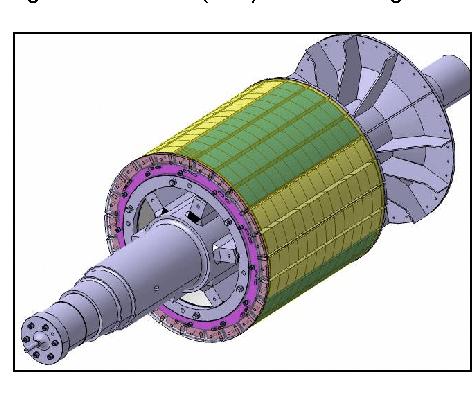 elektromotor rotor 160kw