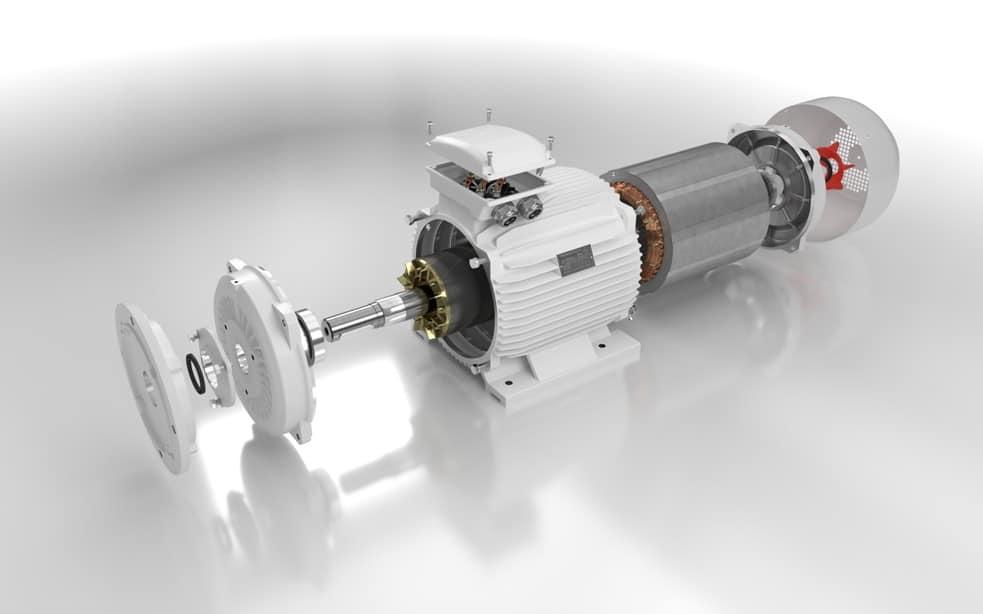 elektromotor rozobratý 90kw