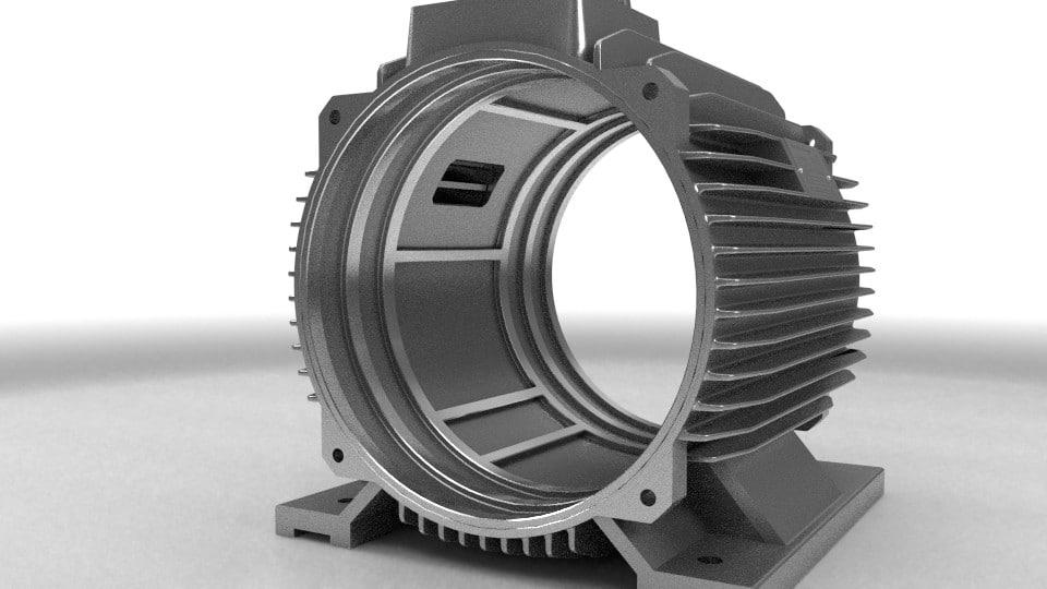 elektromotor stator 132kw