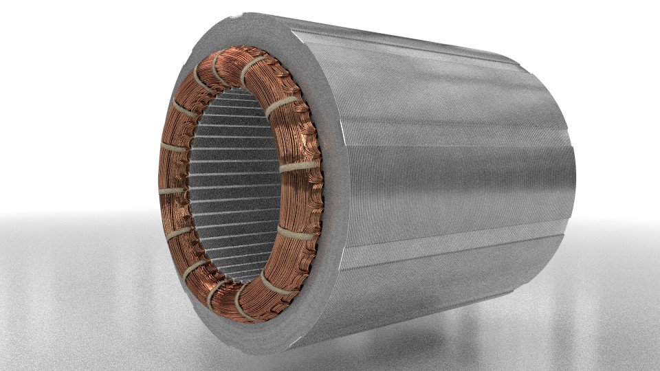 elektromotory statorové plechy 160kw