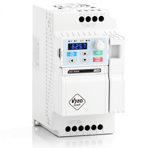 frekvenční měnič 0,75 kw V800