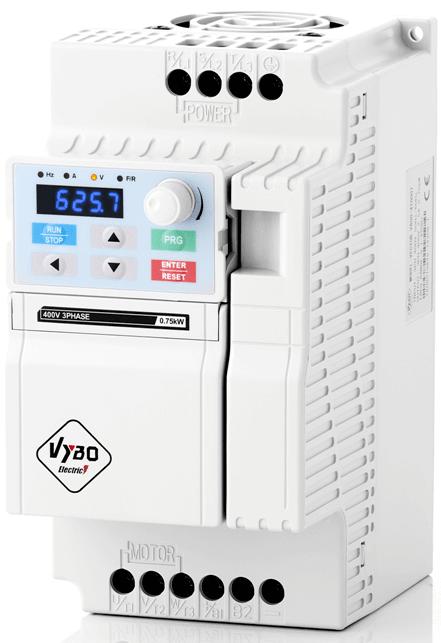 frekvenční měnič 1,5 kw V800