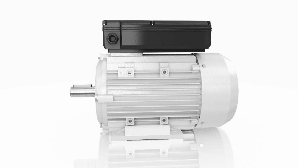 jednofázový elektromotor 230V 0,55kw 1ALJ801-4